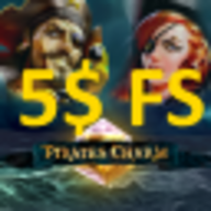 Pirates Charm: 5 USD (real FS) PlayFortuna